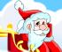 di Babbo Natale Sulla Slitta