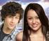 Nick Jonas Miley Cyrus e Selena Gomez
